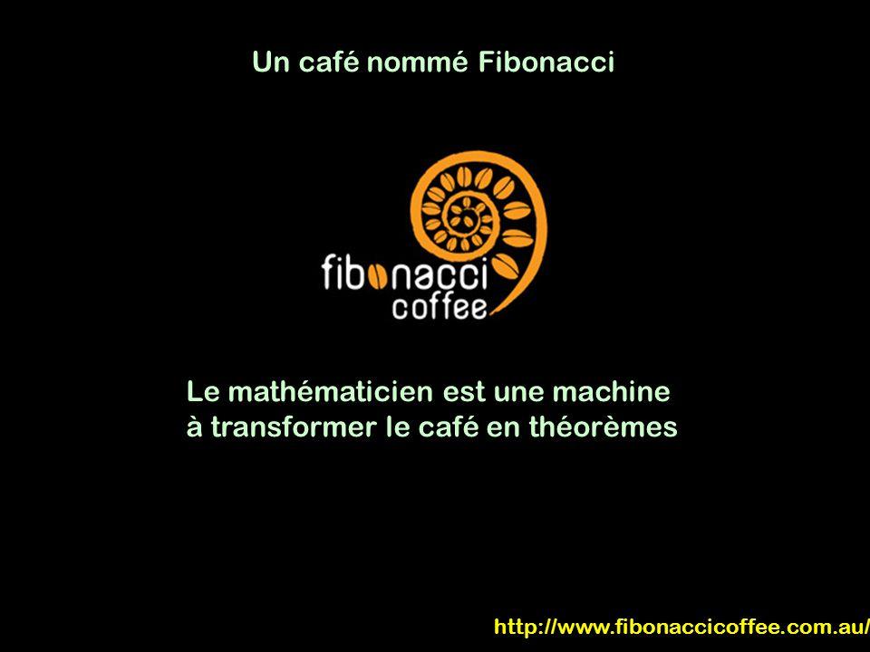 Un café nommé Fibonacci