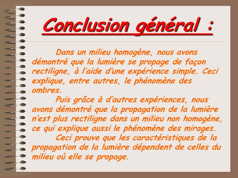 Conclusion général :
