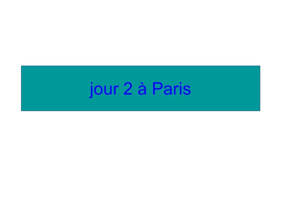jour 2 à Paris *