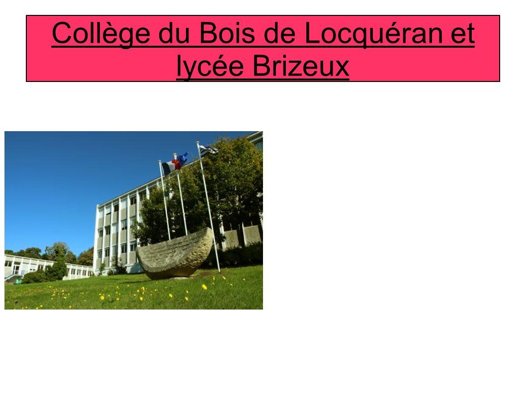 Collège du Bois de Locquéran et lycée Brizeux