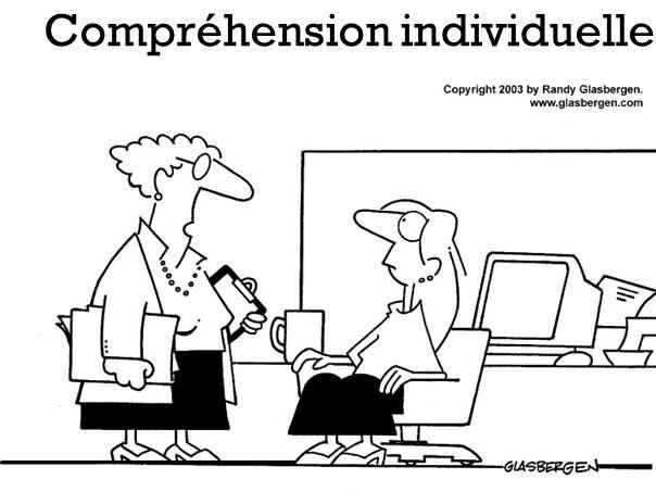 Compréhension individuelle