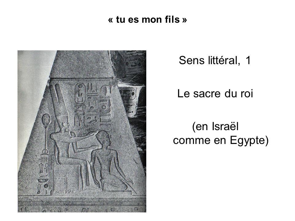 (en Israël comme en Egypte)