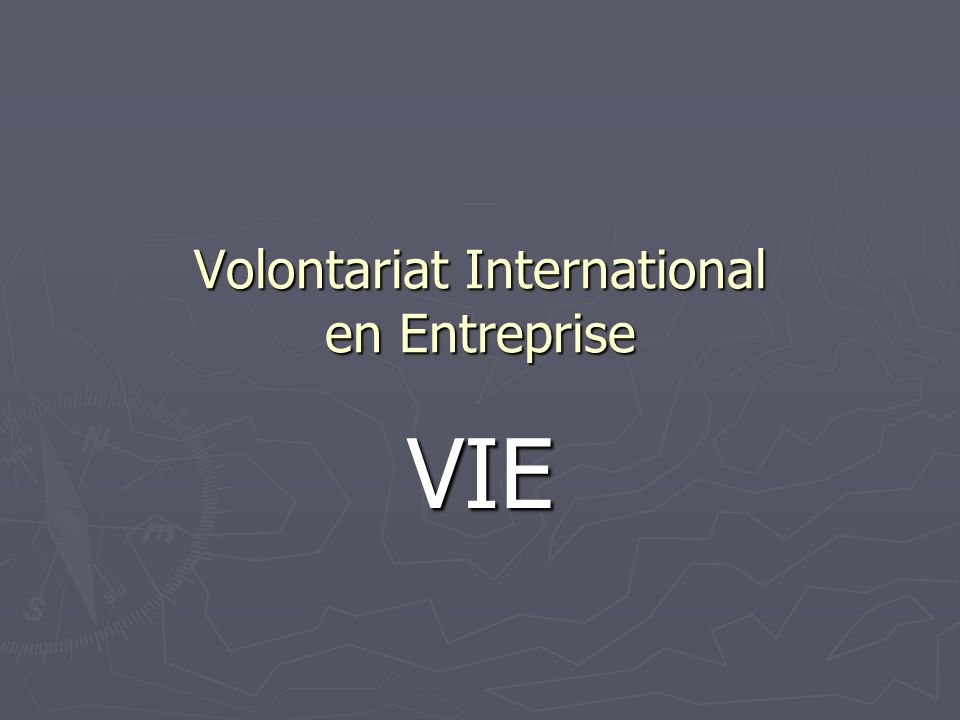 Volontariat International en Entreprise