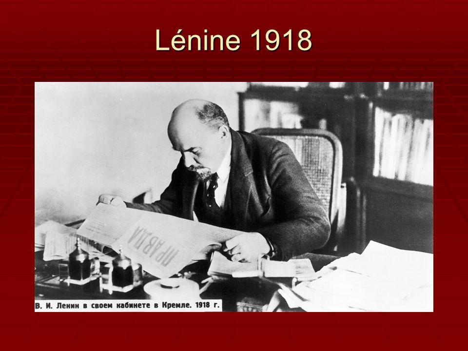Lénine 1918