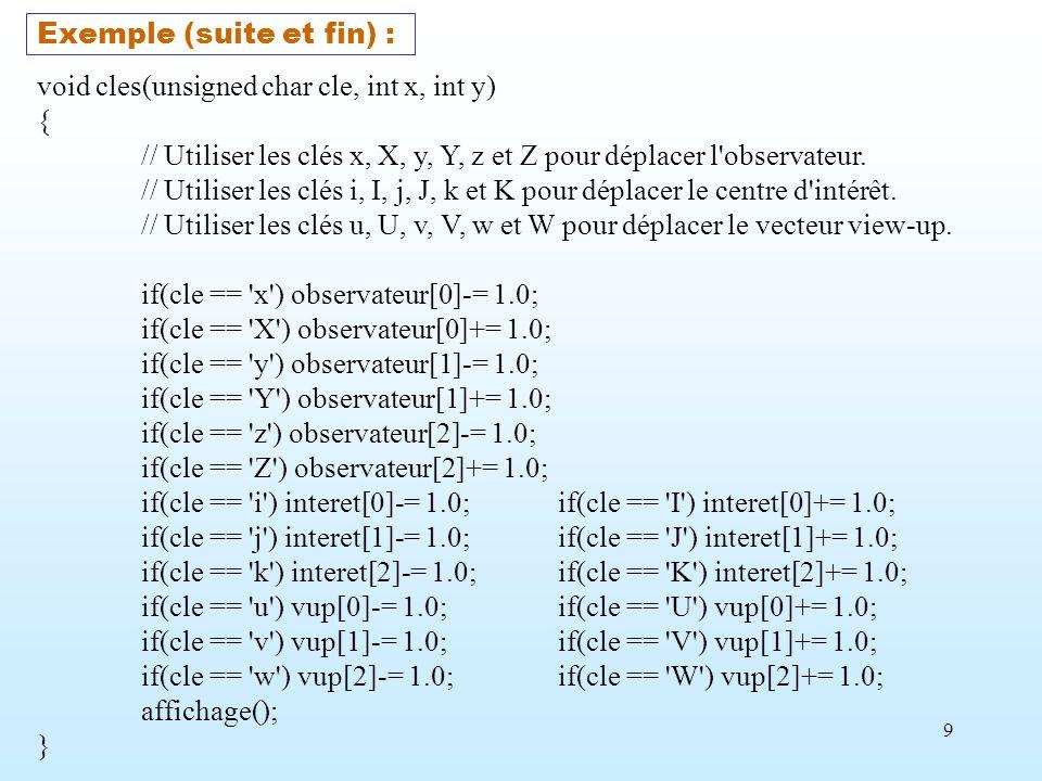 Exemple (suite et fin) :