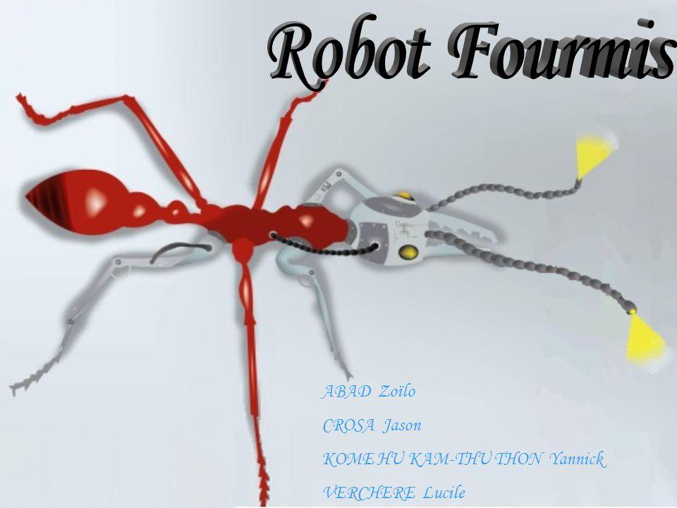 Robot Fourmis ABAD Zoïlo CROSA Jason KOME HU KAM-THU THON Yannick