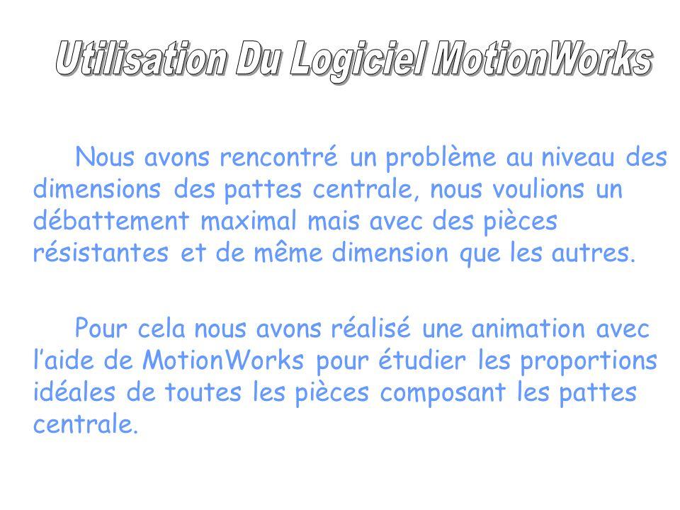 Utilisation Du Logiciel MotionWorks