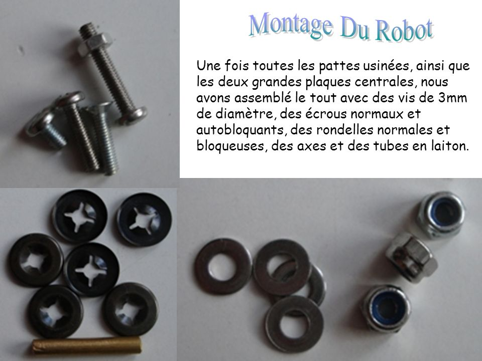 Montage Du Robot