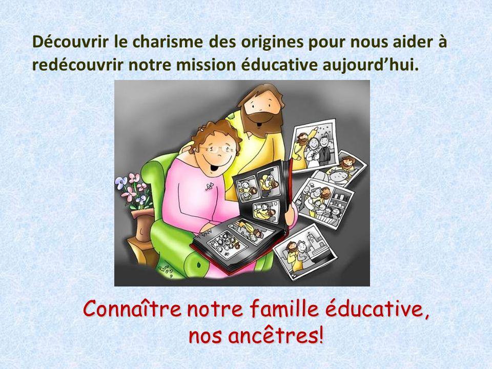 Connaître notre famille éducative, nos ancêtres!