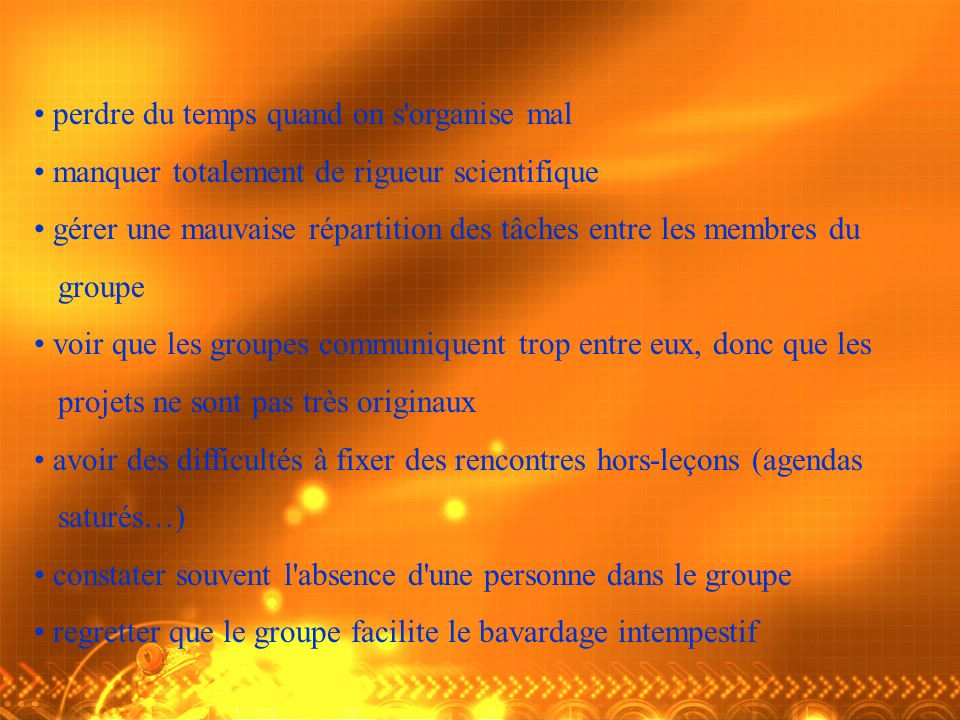 perdre du temps quand on s organise mal