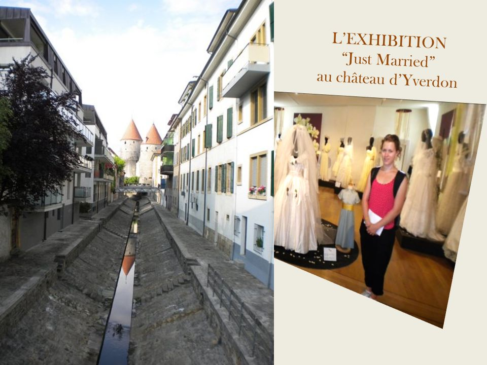 L'EXHIBITION Just Married au château d'Yverdon