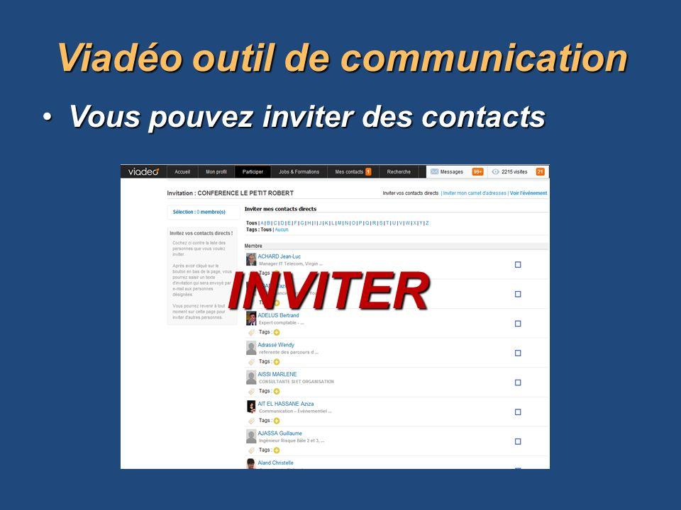 Viadéo outil de communication