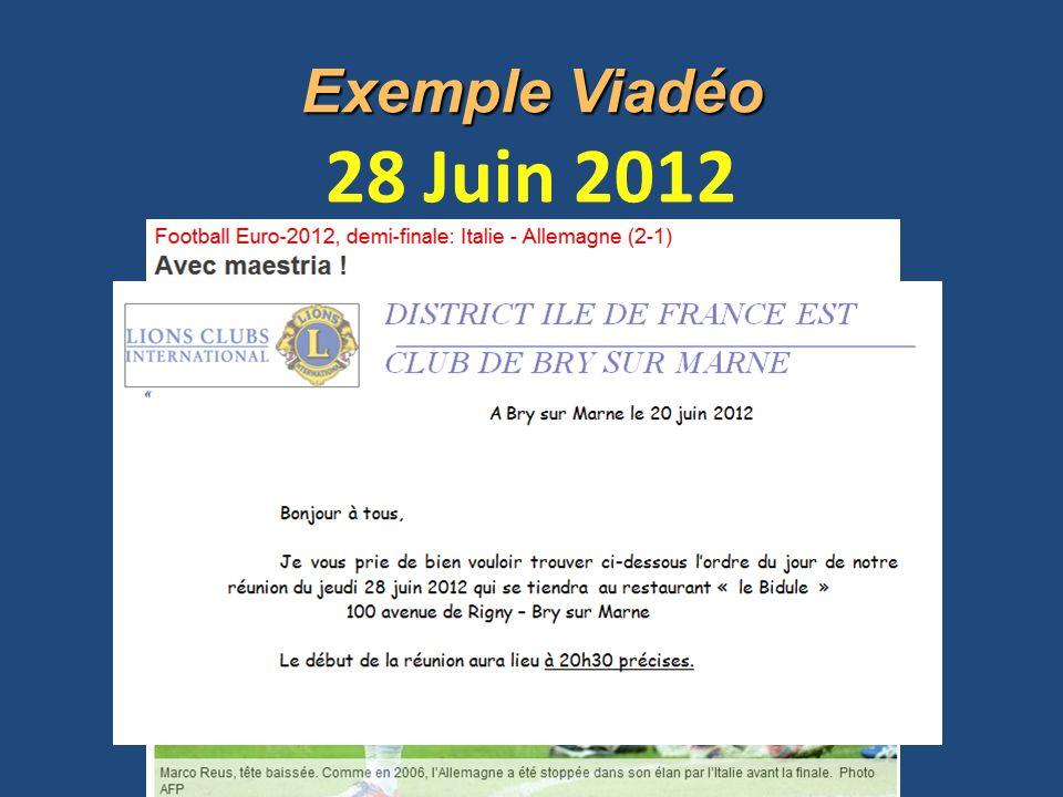Exemple Viadéo 28 Juin 2012