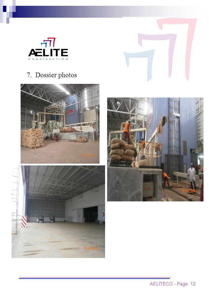 7. Dossier photos AELITECO - Page 12