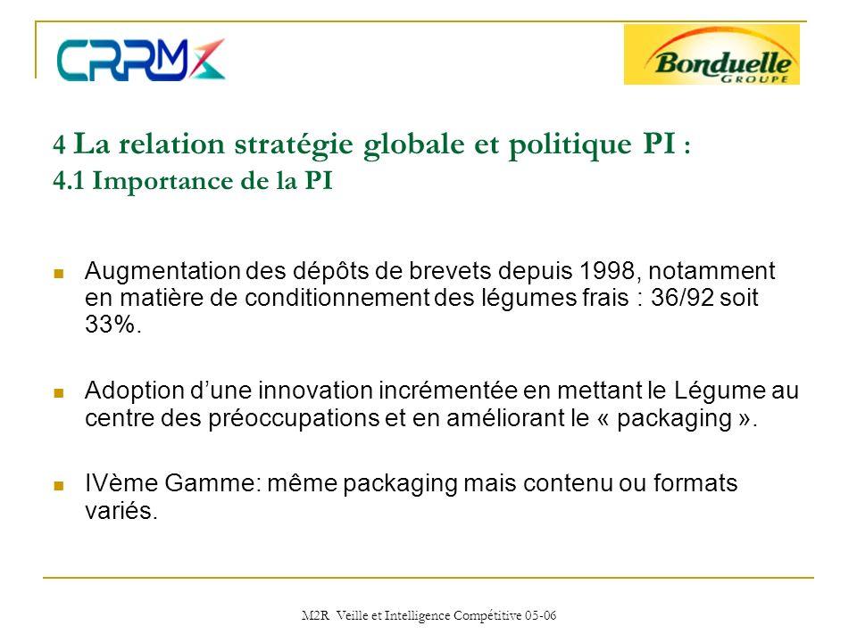 M2R Veille et Intelligence Compétitive 05-06