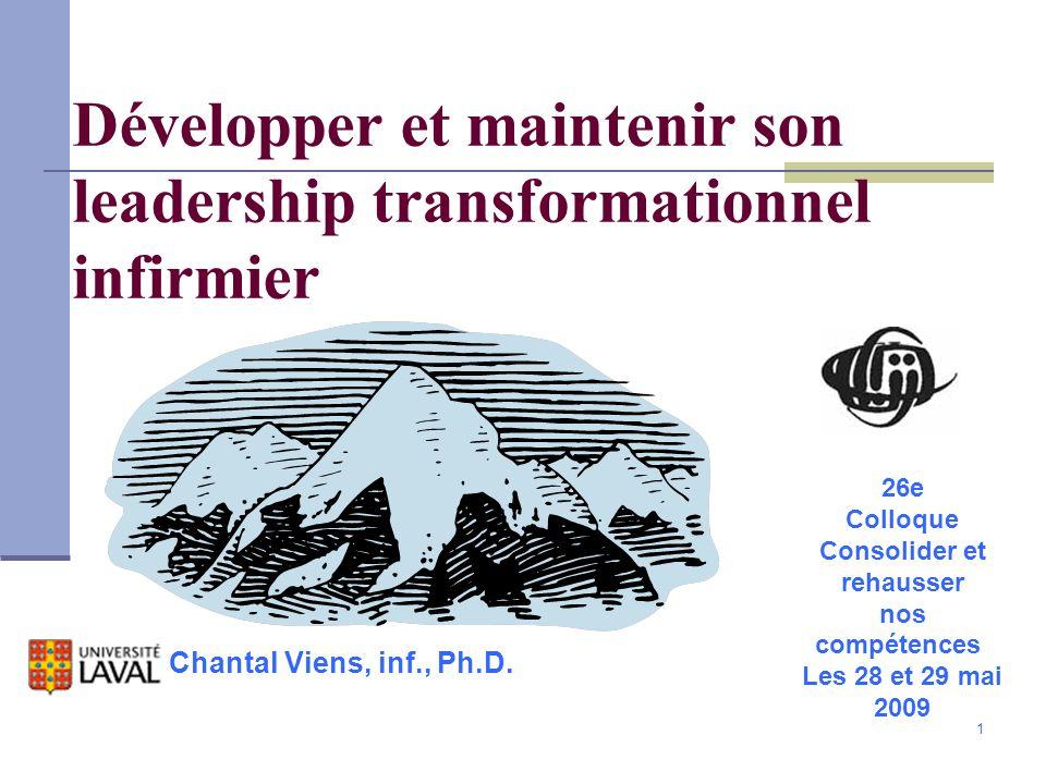 Développer et maintenir son leadership transformationnel infirmier