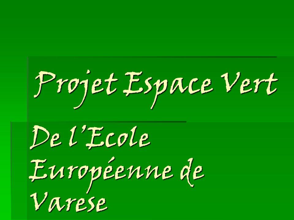 De l'Ecole Européenne de Varese
