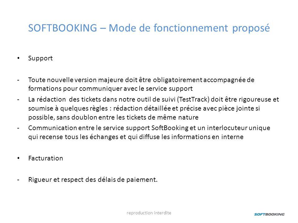 SOFTBOOKING – Mode de fonctionnement proposé