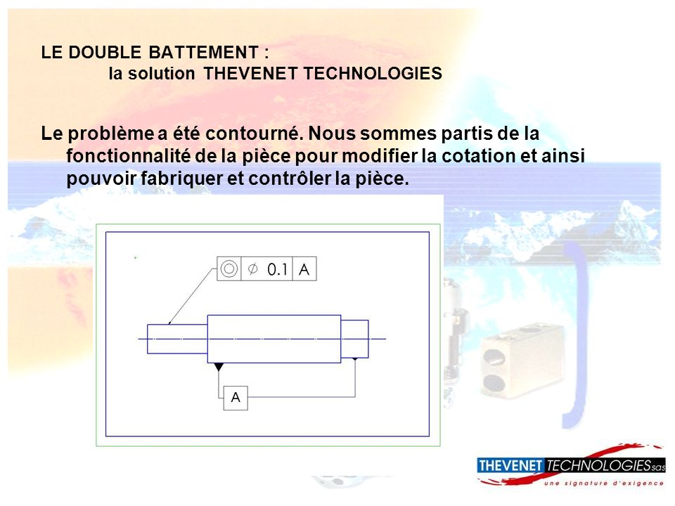 LE DOUBLE BATTEMENT : la solution THEVENET TECHNOLOGIES