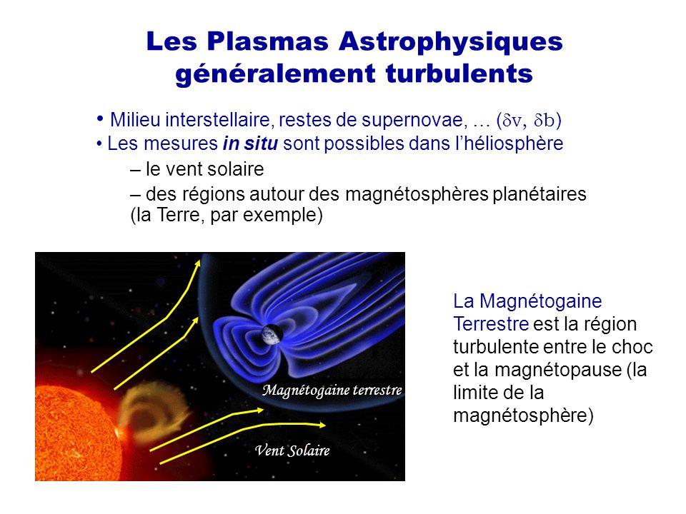 Les Plasmas Astrophysiques généralement turbulents