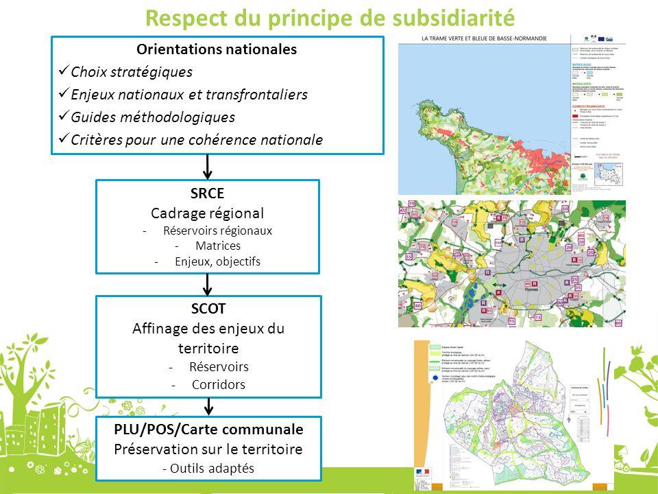 Respect du principe de subsidiarité