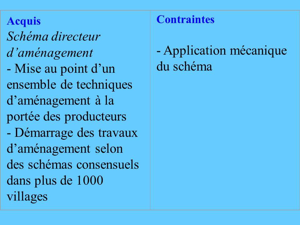 Schéma directeur d'aménagement