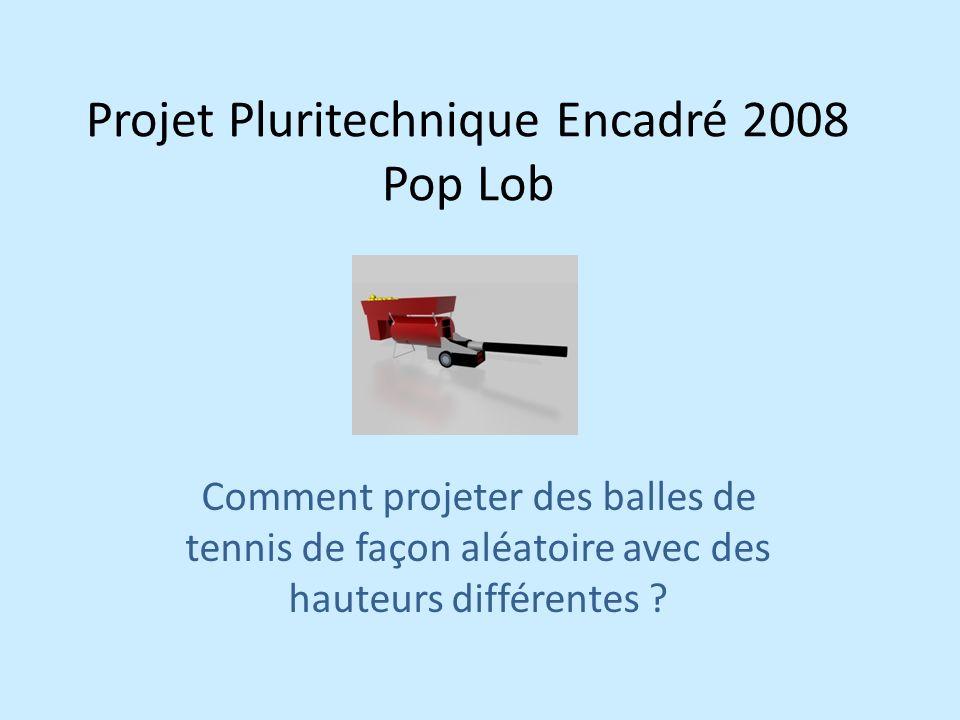 Projet Pluritechnique Encadré 2008 Pop Lob
