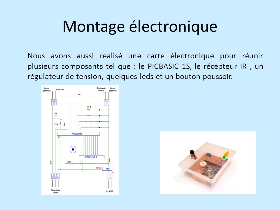 Montage électronique