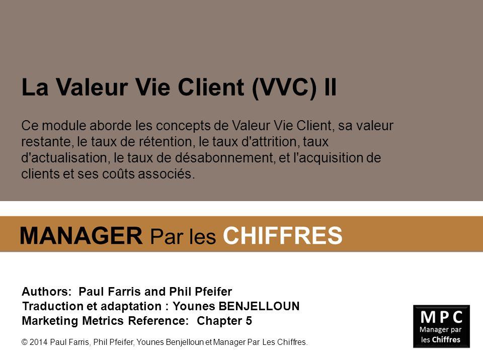 La Valeur Vie Client (VVC) II