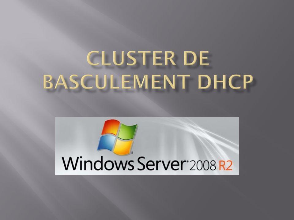 Cluster De Basculement DHCP