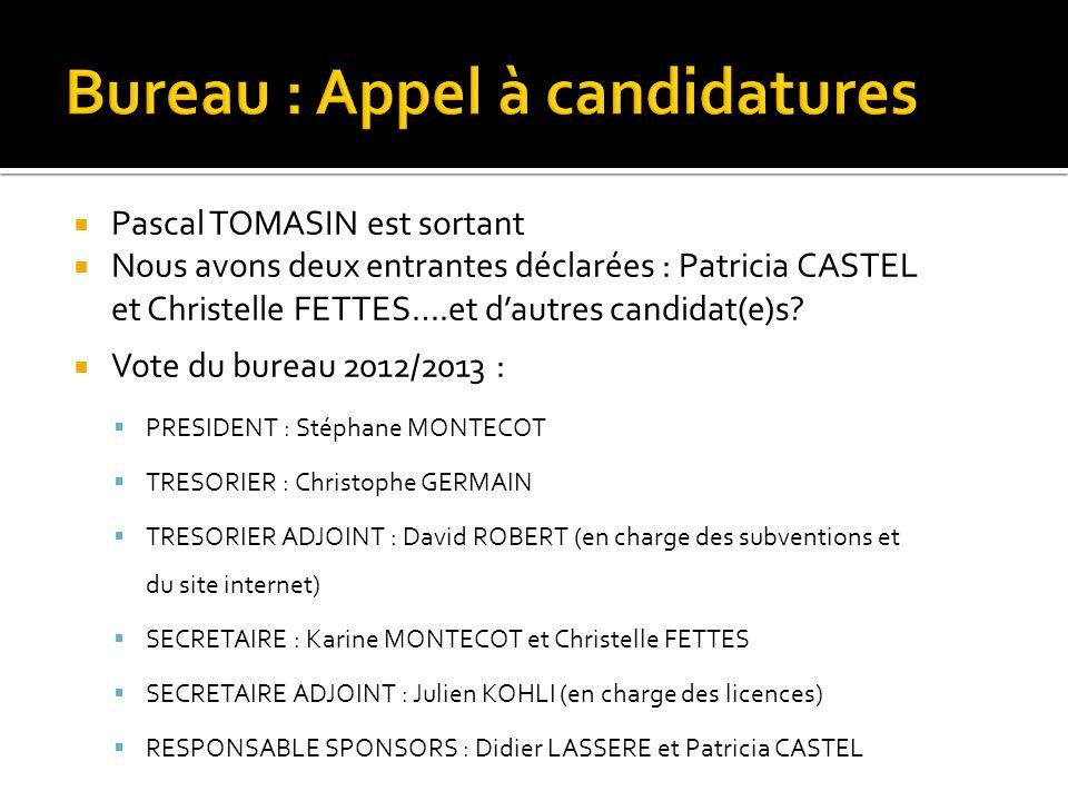 Bureau : Appel à candidatures
