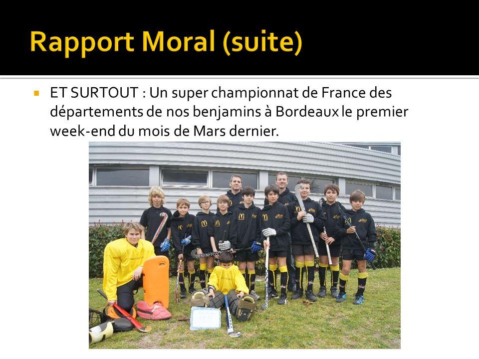 Rapport Moral (suite)