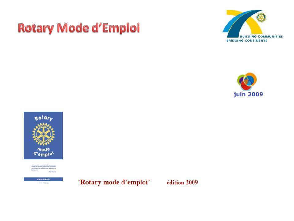 Rotary Mode d'Emploi
