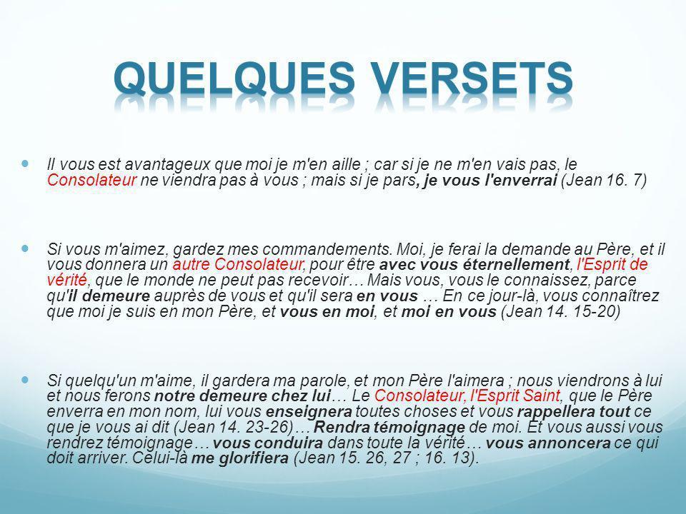 Quelques versets
