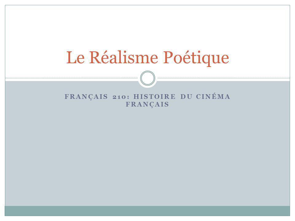 Français 210: Histoire du Cinéma Français