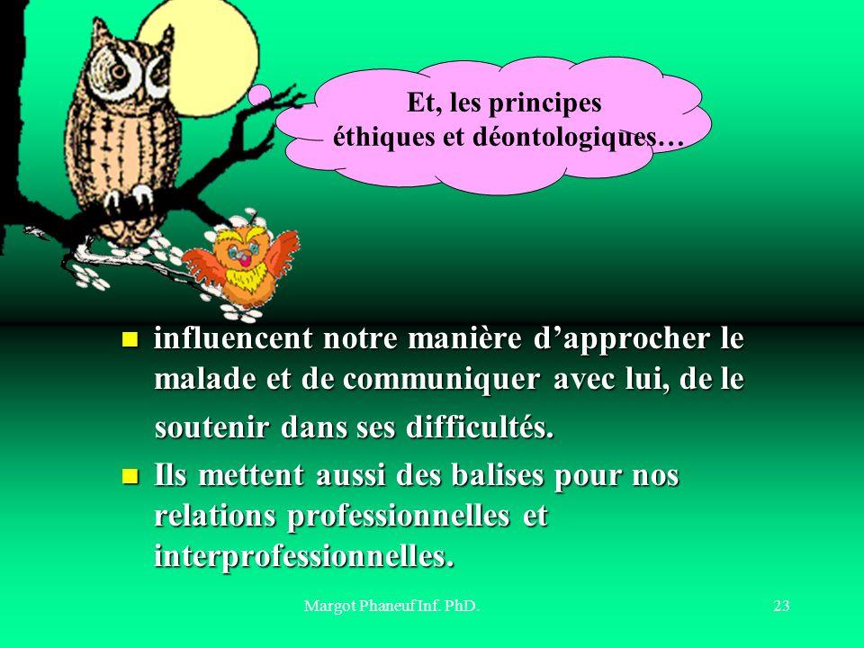 éthiques et déontologiques…