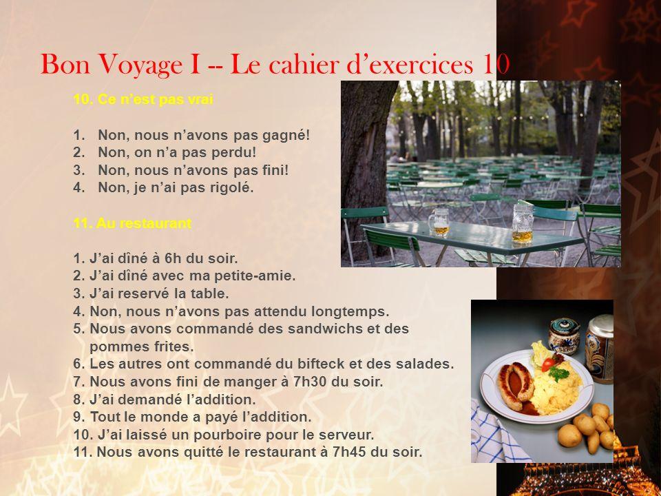 Fran ais 2 3 ap langue et culture ppt t l charger - Restaurant vaise tout le monde a table ...
