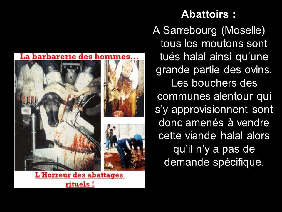Abattoirs :
