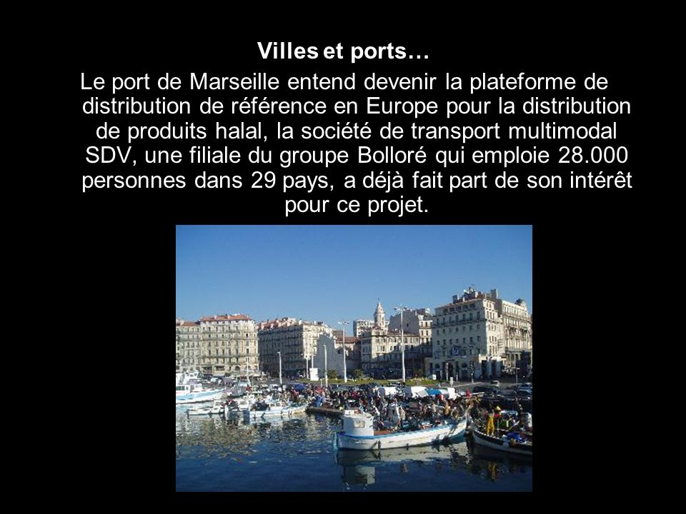 Villes et ports…