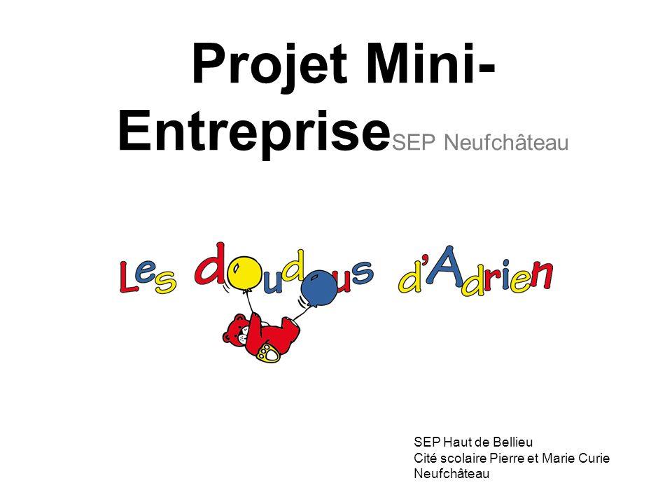 Projet Mini-EntrepriseSEP Neufchâteau