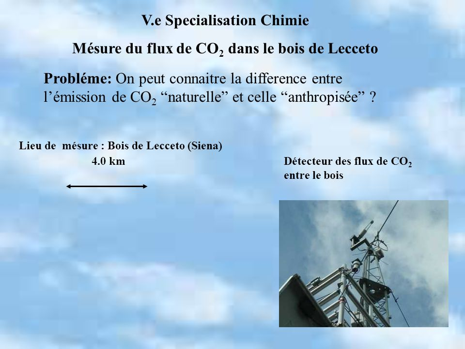 V.e Specialisation Chimie