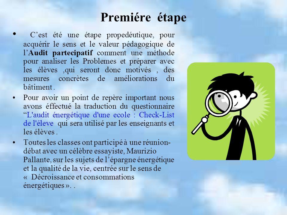 Premiére étape