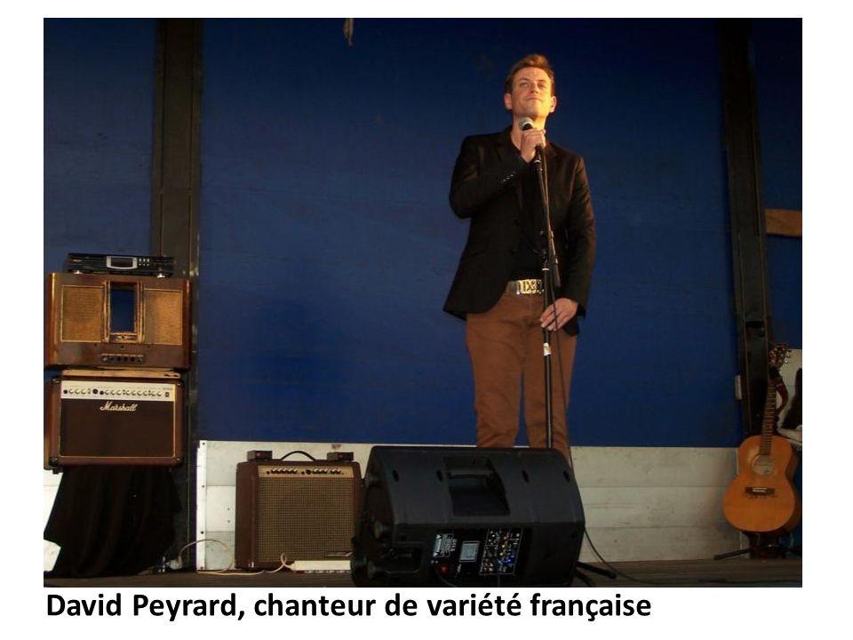 David Peyrard, chanteur de variété française