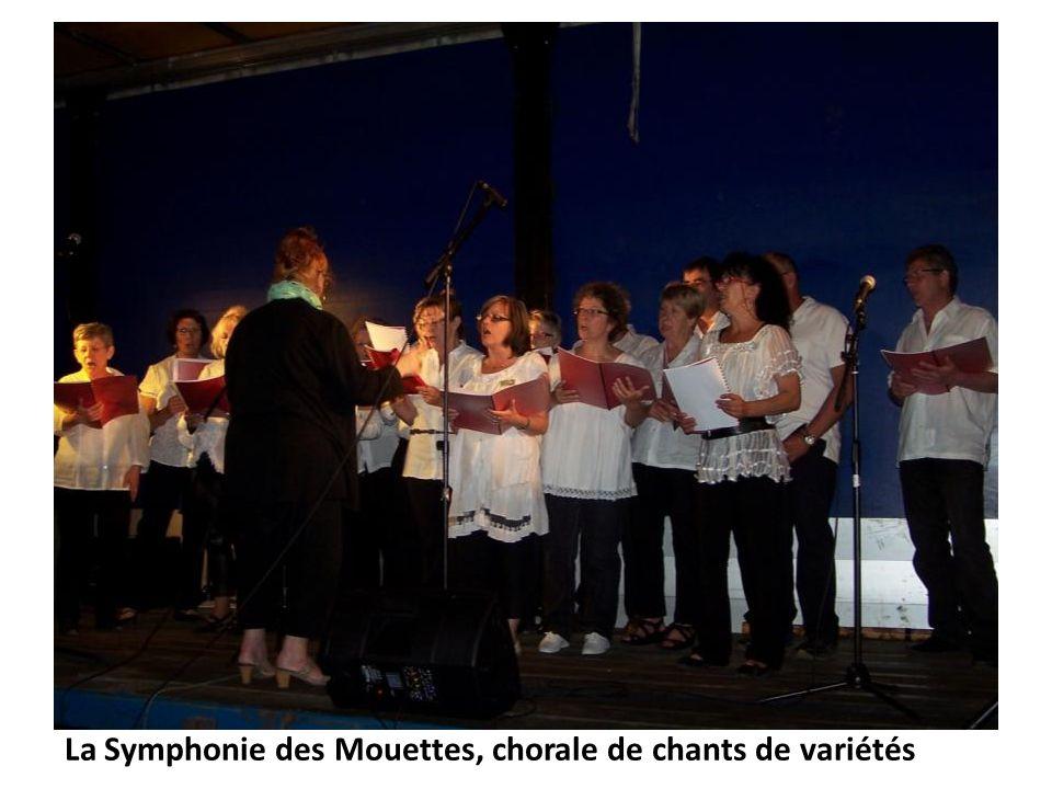 La Symphonie des Mouettes, chorale de chants de variétés