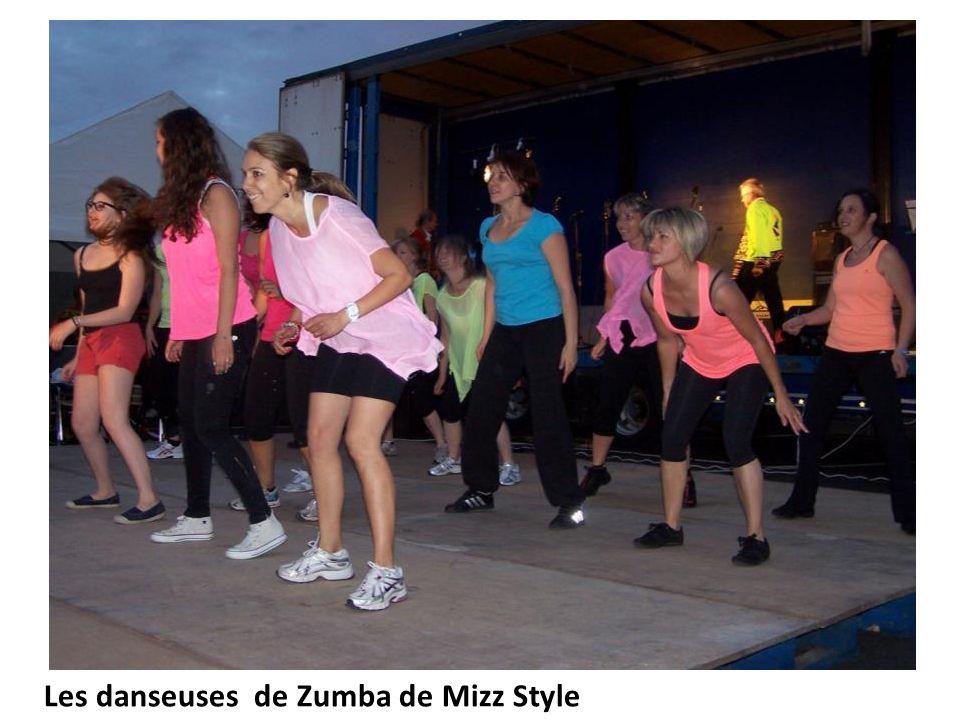 Les danseuses de Zumba de Mizz Style