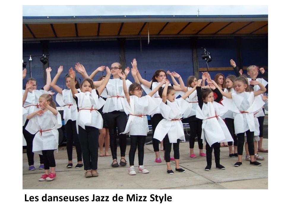 Les danseuses Jazz de Mizz Style