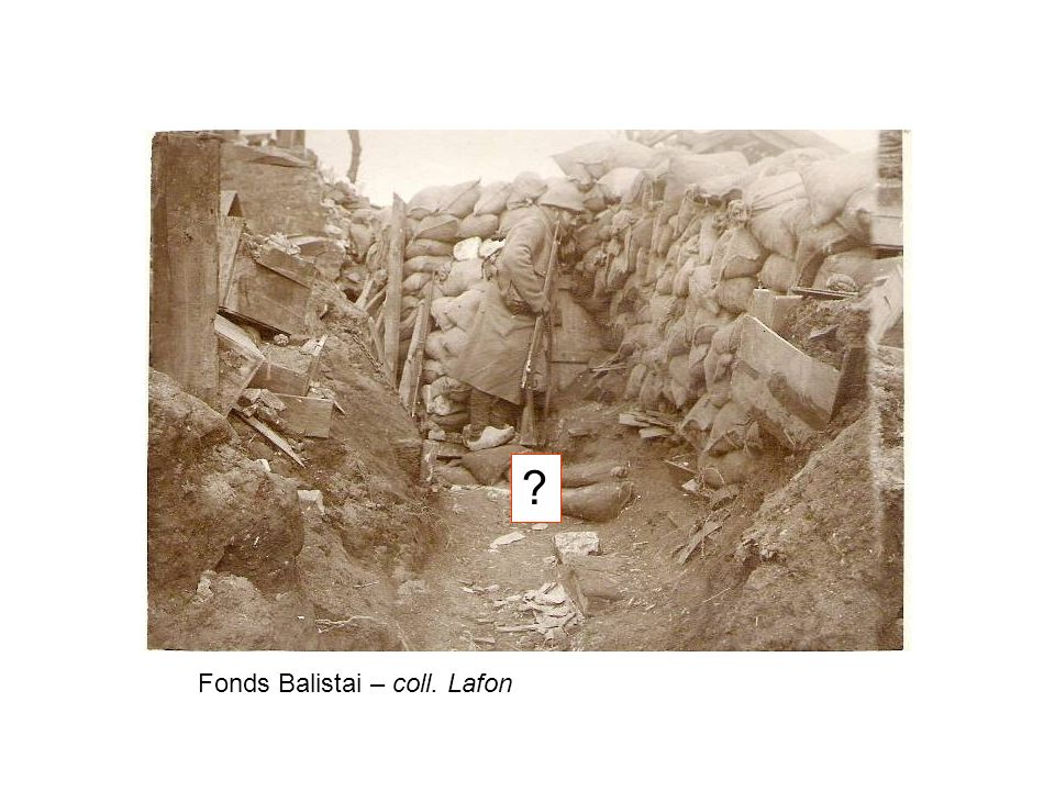 Fonds Balistai – coll. Lafon