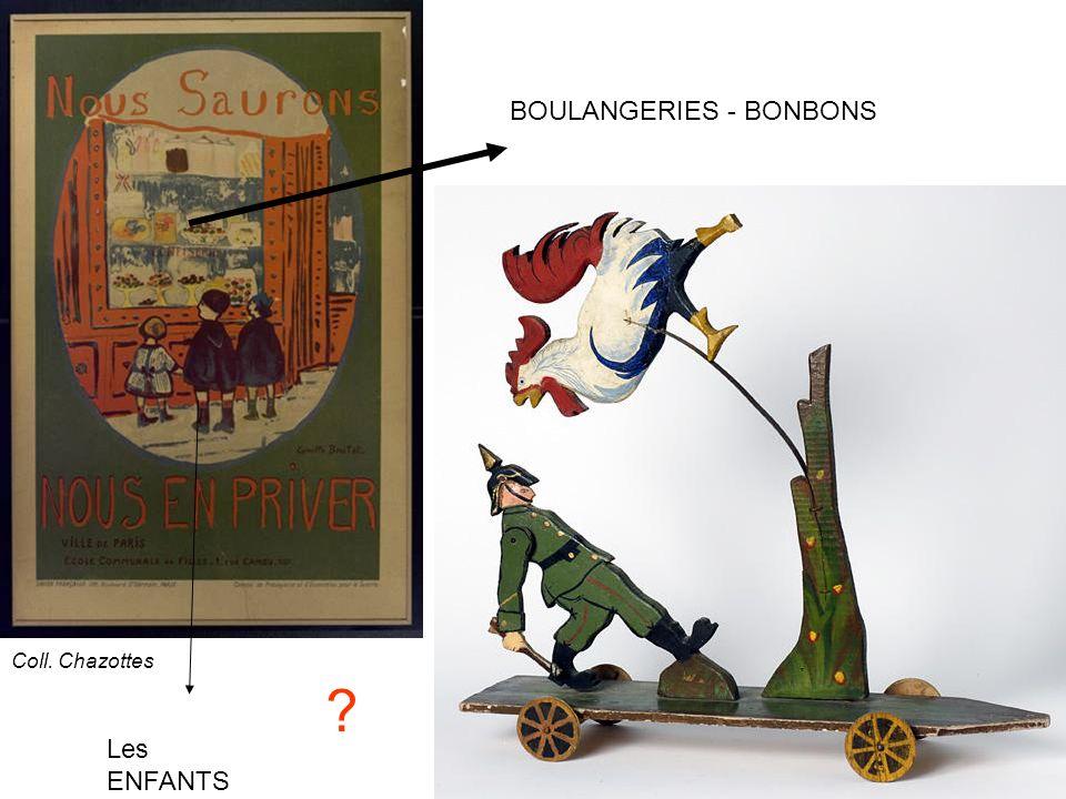BOULANGERIES - BONBONS