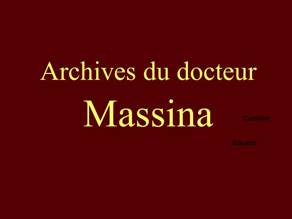 Archives du docteur Massina