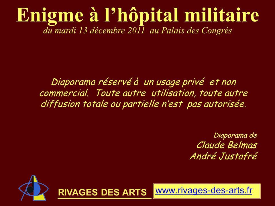 Enigme à l'hôpital militaire